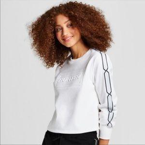 NWOT Hunter X Target | White Cropped Sweatshirt